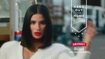 Smirnoff Seltzer TV Spot, 'Hang Out From Home: Diane's Inner Monologue' Featuring Diane Guerrero - Thumbnail 8