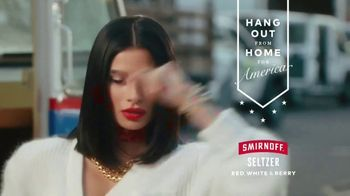 Smirnoff Seltzer TV Spot, 'Hang Out From Home: Diane's Inner Monologue' Featuring Diane Guerrero - Thumbnail 9