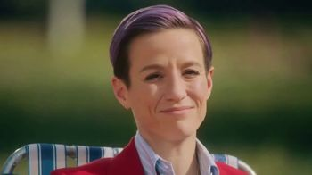 Smirnoff Seltzer TV Spot, 'Hang Out From Home: Megan's Inner Monologue' Featuring Megan Rapinoe