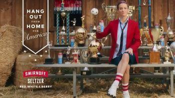 Smirnoff Seltzer TV Spot, 'Hang Out From Home: Megan's Inner Monologue' Featuring Megan Rapinoe - Thumbnail 7