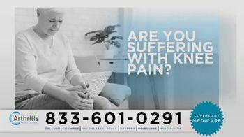 Arthritis Relief Centers TV Spot, 'Cushioning Fluid'