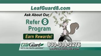 LeafGuard of Seattle $99 Install Sale TV Spot, 'No Matter the Weather' - Thumbnail 9