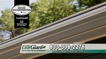 LeafGuard of Seattle $99 Install Sale TV Spot, 'No Matter the Weather' - Thumbnail 3