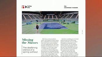 TENNIS Magazine TV Spot, 'Informed' - Thumbnail 4