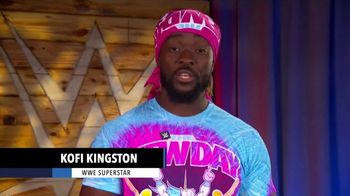 Centers for Disease Control and Prevention TV Spot, 'WWE: Questions' Ft. Kofi Kingston - 3 commercial airings