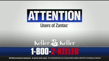 Keller & Keller TV Spot, 'Zantac Cancer Diagnosis' - Thumbnail 2