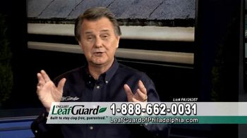 LeafGuard of Philadelphia $99 Install Sale TV Spot, 'Screws, Not Nails' - 1 commercial airings