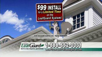 LeafGuard of Philadelphia $99 Install Sale TV Spot, 'Screws, Not Nails' - Thumbnail 5