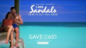 Sandals Resorts TV Spot, 'Times Like These' - Thumbnail 9