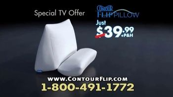 Contour Flip Pillow TV Spot, 'One Pillow Does it All' - Thumbnail 8