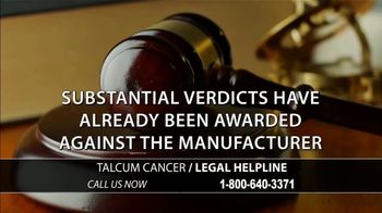 Onder Law Firm TV Spot, 'Baby Powder: Ovarian Cancer' - Thumbnail 8