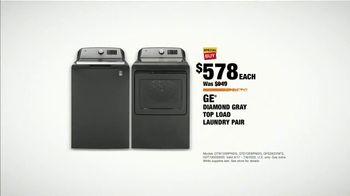 The Home Depot TV Spot, 'Cool Drinks & Midnight Snacks: GE Laundry Pair & $600 Savings' - Thumbnail 7