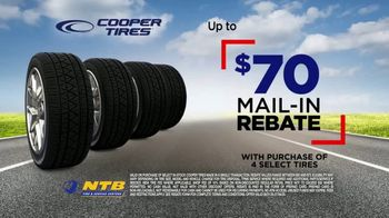 Gearing Up: $70 Mail-In Rebate on Cooper Tires thumbnail