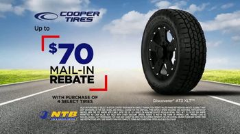 National Tire & Battery TV Spot, 'Gearing Up: $70 Mail-In Rebate on Cooper Tires' - Thumbnail 5