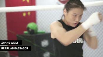 GRRRL TV Spot, 'Fight Ambassador' Featuring Zhang Weili - Thumbnail 3