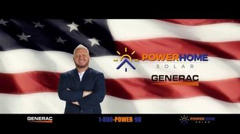 Power Home Solar & Roofing Stimulus Package TV Spot, 'Generac PWR Cell'