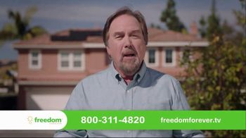Freedom Forever Solar Stimulus TV Spot, 'Add Value to Your Home' Featuring Richard Karn