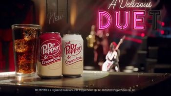 Dr Pepper & Cream Soda TV Spot, 'A Delicious Duet: It's New' Featuring Justin Guarini