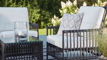 Ethan Allen Father's Day Sale TV Spot, 'Enhance Your Outdoor Living Space' - Thumbnail 5