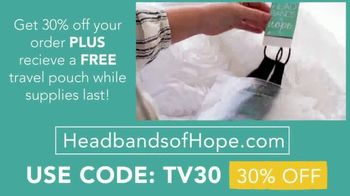 Headbands of Hope TV Spot, '30% Off Plus a Free Travel Pouch' - Thumbnail 10