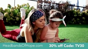 Headbands of Hope TV Spot, '30% Off Plus a Free Travel Pouch' - Thumbnail 4