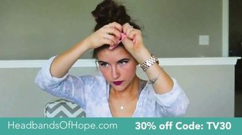 Headbands of Hope TV Spot, '30% Off Plus a Free Travel Pouch' - Thumbnail 5