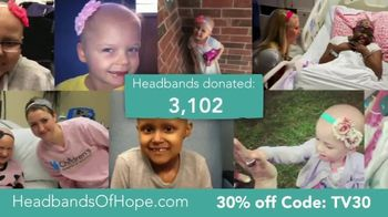 Headbands of Hope TV Spot, '30% Off Plus a Free Travel Pouch' - Thumbnail 7
