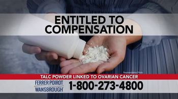 Ferrer, Poirot and Wansbrough TV Spot, 'Ovarian Cancer: Talc Products' - Thumbnail 4