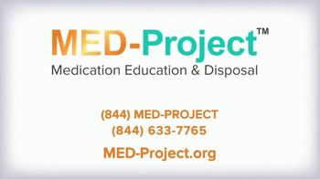 MED-Project TV Spot, 'Unwanted Medications: Safe and Free Options' - Thumbnail 7
