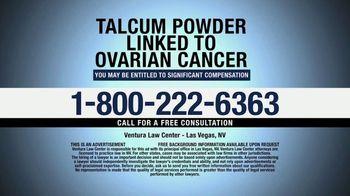 Ventura Law Center TV Spot, 'Talcum Powder Lawsuit' - Thumbnail 9