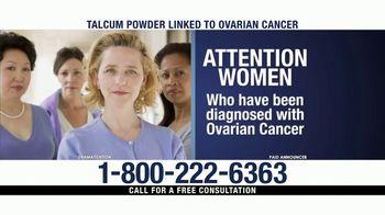 Ventura Law Center TV Spot, 'Talcum Powder Lawsuit' - Thumbnail 1