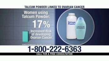 Ventura Law Center TV Spot, 'Talcum Powder Lawsuit' - Thumbnail 2