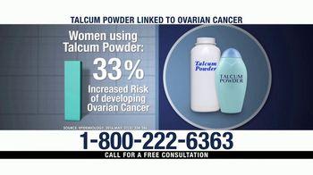 Ventura Law Center TV Spot, 'Talcum Powder Lawsuit' - Thumbnail 3
