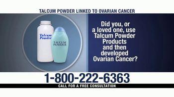 Ventura Law Center TV Spot, 'Talcum Powder Lawsuit' - Thumbnail 4