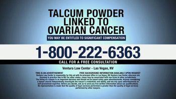 Ventura Law Center TV Spot, 'Talcum Powder Lawsuit' - Thumbnail 8