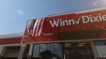 Winn-Dixie TV Spot, 'Round Up Your Total for America's Heroes' - Thumbnail 1
