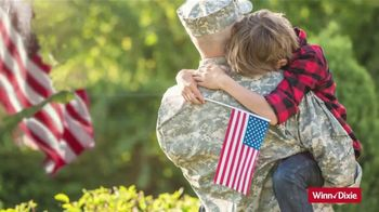 Winn-Dixie TV Spot, 'Round Up Your Total for America's Heroes' - Thumbnail 3