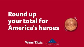 Winn-Dixie TV Spot, 'Round Up Your Total for America's Heroes' - Thumbnail 5