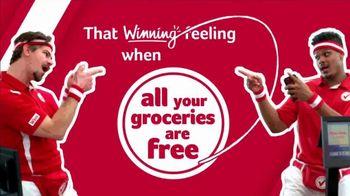 Winn-Dixie TV Spot, 'Winning Feeling: Free Groceries'