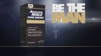 Ageless Male Core Energy TV Spot, 'Supports Natural Energy Production'