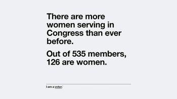 Entertainment Industry Foundation TV Spot, 'I Am a Voter: Women Serving' - Thumbnail 5