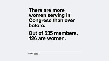 Entertainment Industry Foundation TV Spot, 'I Am a Voter: Women Serving' - Thumbnail 6