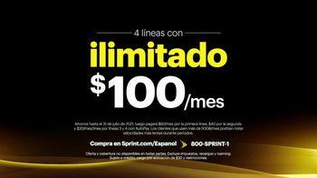 Sprint Unlimited TV Spot, 'Cuatro Apple iPhone 11' [Spanish] - Thumbnail 4