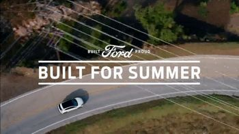 Ford Built For Summer Sales Event TV Spot, 'Get a Ford' [T2]