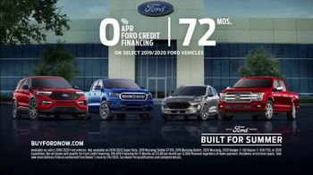 Ford Built For Summer Sales Event TV Spot, 'Get a Ford' [T2] - Thumbnail 6