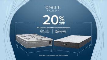 Value City Furniture Dream Mattress Studio Fourth of July Sale TV Spot, '20% Off' - Thumbnail 7