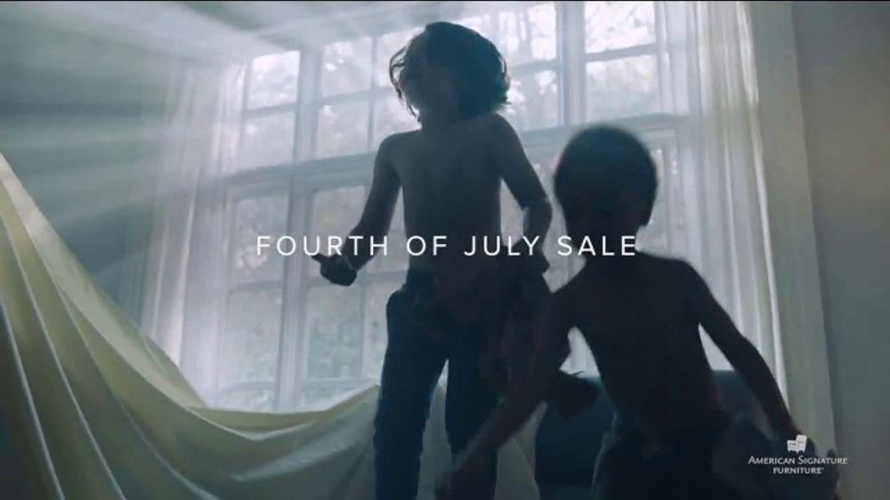 American Signature Furniture Fourth of July Sale TV Commercial, 'Enjoy'