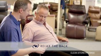 Relax the Back TV Spot, 'Dedicated to You: Zero Gravity Recliners' - Thumbnail 2