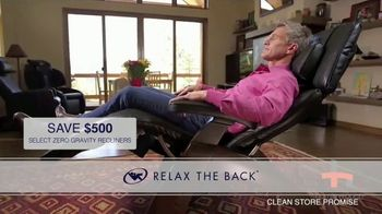Relax the Back TV Spot, 'Dedicated to You: Zero Gravity Recliners' - Thumbnail 6