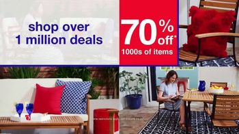 Overstock.com 4th of July Blowout TV Spot, 'Star Spangled Savings' - Thumbnail 4